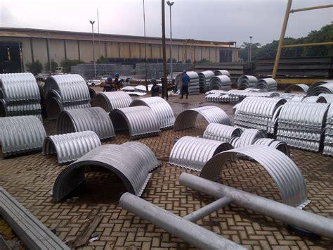 Baja Blocking Guardrail pt chasana global mandiri corrugated steel pipe