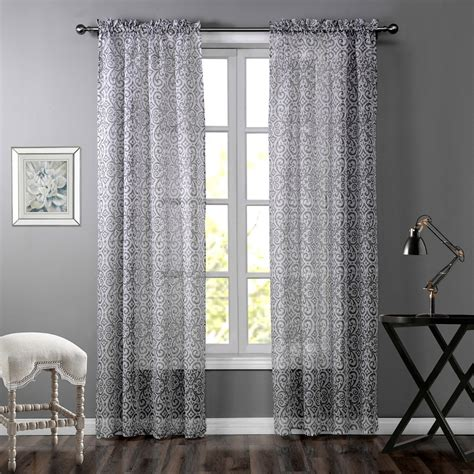 High Window Curtains Grey Curtains Printed Striped Curtains For Windows Grey Striped Cheap Bedroom Curtain High
