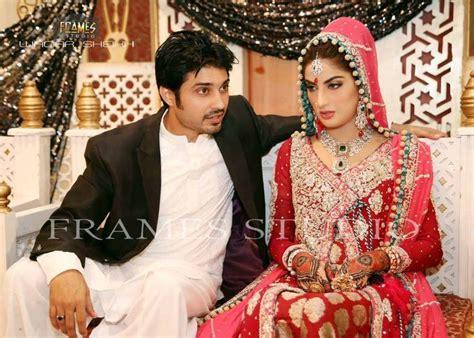 ashraf sharmila the late tv khan on valima with actor