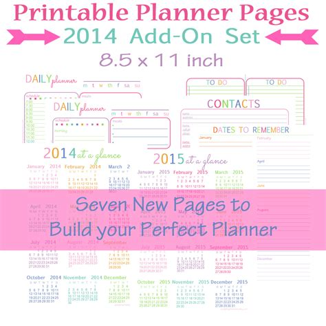 printable planner pages the mac and cheese chronicles a new start the mac and cheese chronicles