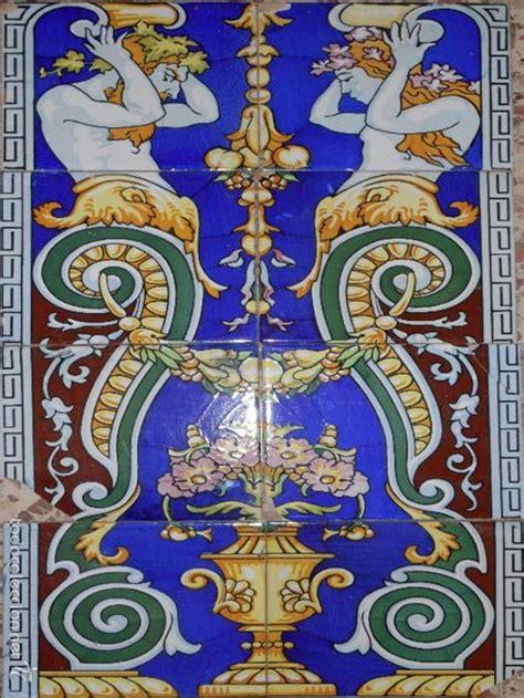 azulejos modernistas lote de 8 azulejos modernistas para panel 80 comprar