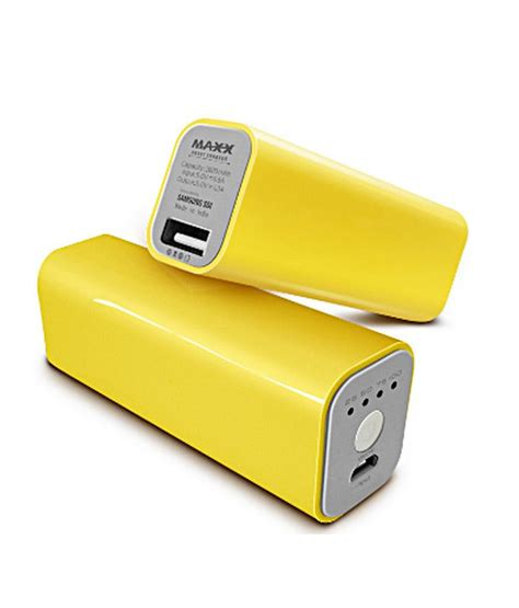 Power Bank Dsbc maxx smart power bank charger pbs 26 sd yellow power