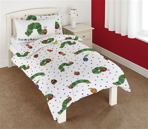 cotton the hungry caterpillar junior toddler cot bed