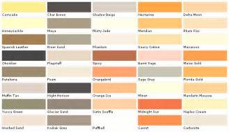 home depot paint color chart home depot paint color chart