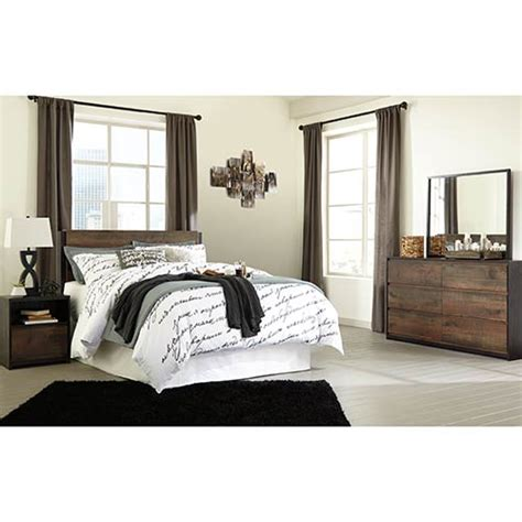 signature design  ashley windlore queen bedroom set