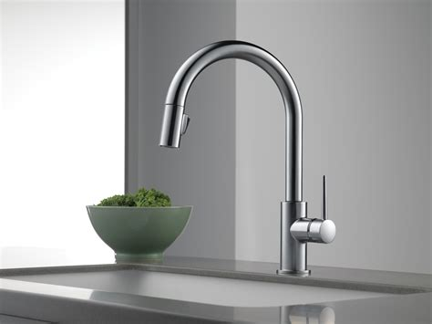 sensor faucet kitchen delta motion sensor kitchen faucets