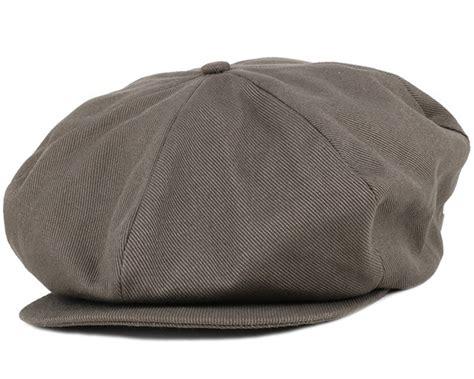 Brixton Ollie Cap Brown 1 ollie charcoal flat cap brixton caps hatstoreworld