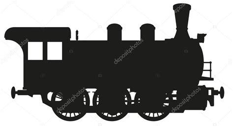 steam locomotive silhouette www imgkid com the image