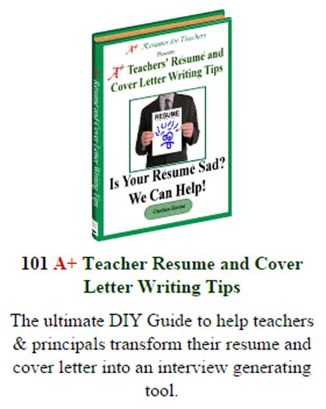 cover letter and resume books preschool resume tips and sles