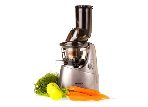 Juicer Kuvings kuvings whole juicer in silver with accessories at uk juicers