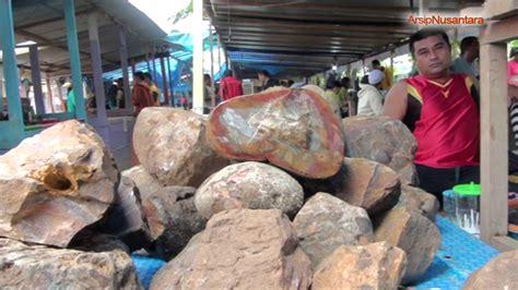 Akik Ternate dodoku ali pasar batu akik terbesar di ternate