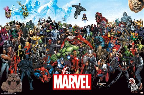 Marvel L by New Marvel Poster Lineup Shows No For And