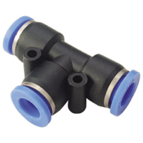 Pnuematic Push In Fitting 12mm X 10mm Union 7mm push in union 7mm tubing fittings pneumatic fittings