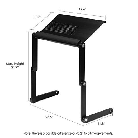 Furinno Adjustable Laptop Desk Furinno Adjustable Vented Laptop Table Laptop Computer Desk Portable Bed Tray Book Stand