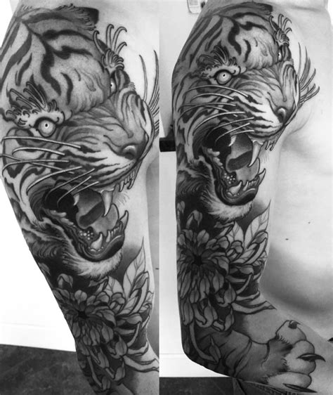 Tiger Tattoo Meaning And Symbolism Ink Vivo Meaning Of A Tiger Tattoos