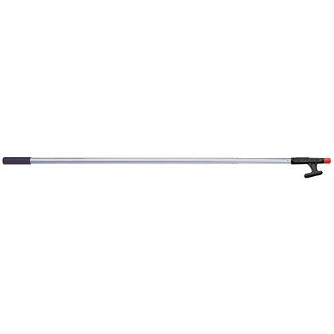 boat hook accessories garelick 174 telescoping 2 section boat hook 4 7 1 2