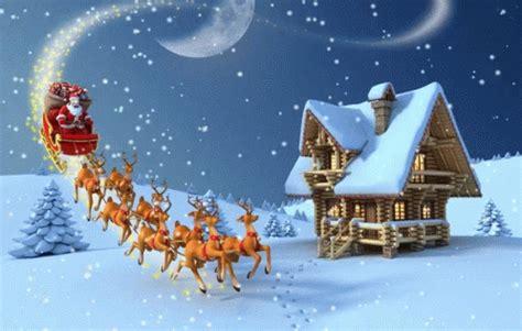 sleigh santa claus  coming  town gif sleigh santaclausiscomingtotown reindeer discover
