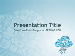 powerpoint technical presentation templates free cloud computing powerpoint template pptmag
