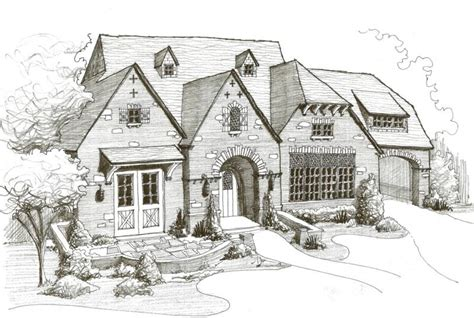 house sketch dallas luxury home designs custom residential homes