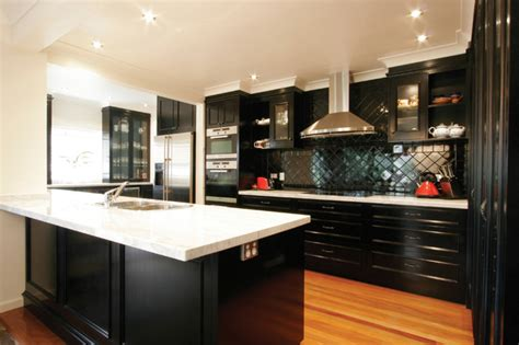 ebony kitchen cabinets enigma interiors ebony kitchen contemporary kitchen