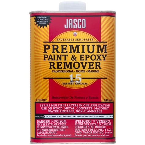 Jasco 1 Qt Premium Paint And Epoxy Remover Qjbp00202