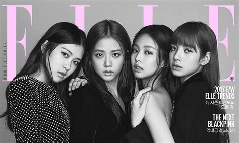 black pink members black pink members are the chic cover models for elle