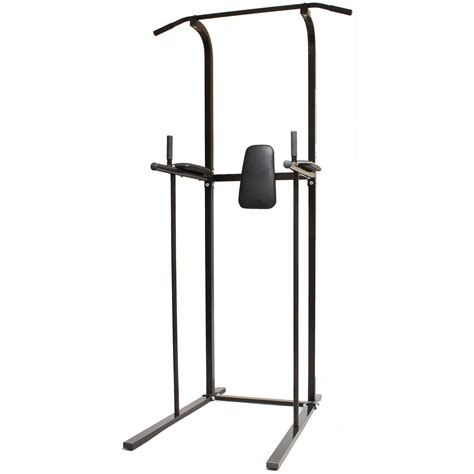 black home power tower dip station pull chin up bar