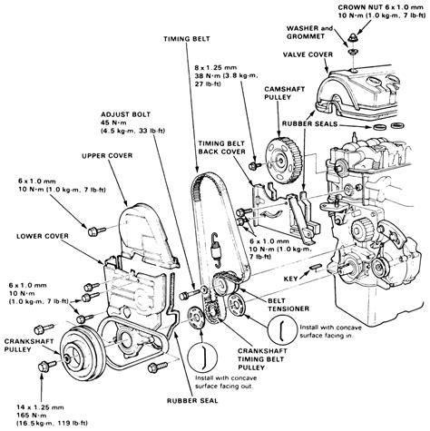 honda civic engine diagram honda civic