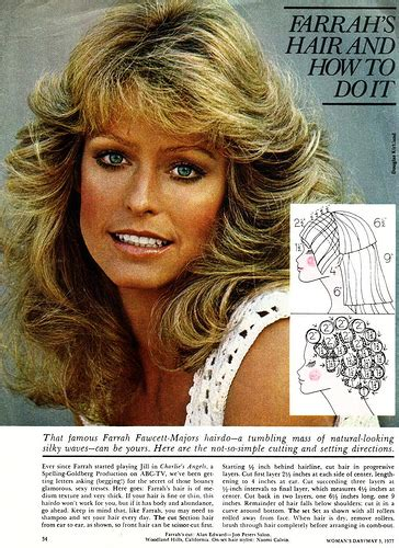 diagram of farrah fawcett haircut kelli s blog a blog about stuff things info that