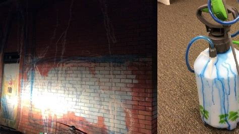 spray painter darwin catch darwin bloke spray painting a wall at