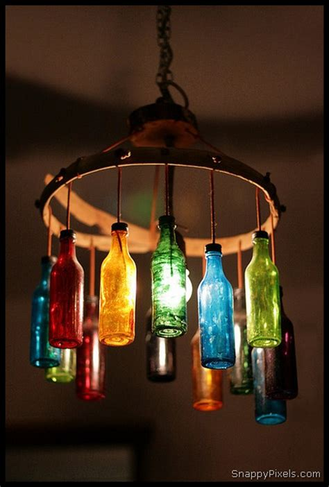 decorate  diy upcycled wine bottle ideas snappy pixels