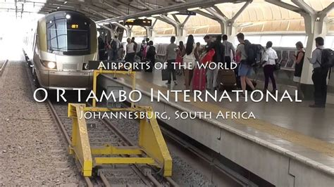 International S O R J four minutes at or tambo international airport