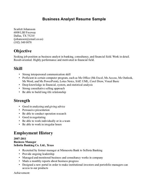 Resume Objective Exles For Business Analyst Exles Of Resumes 11 4 International Student Resume And Cv Regarding 89 Exciting Template