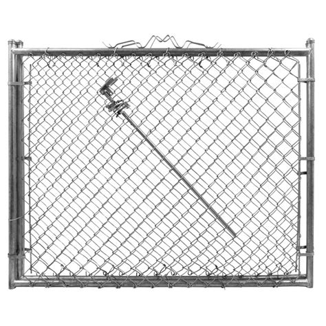 yardgard 9 5 ft x 4 ft 9 galvanized chain link