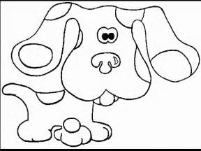 blues clues coloring pages coloring pages blue s clues coloring pages