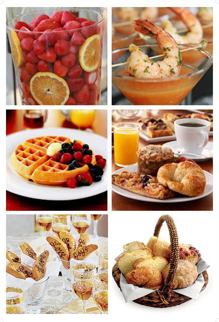 simple bridal shower recipes a bridal shower brunch anyone larry