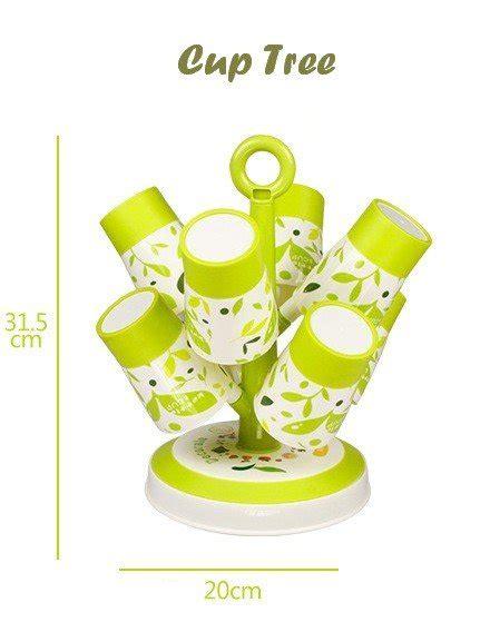 Cup Tree Set Gelas Berbentuk Pohon Isi 8 Gelas 1 Holder Diskon jual cup tree set gelas berbentuk pohon isi 8 gelas 1
