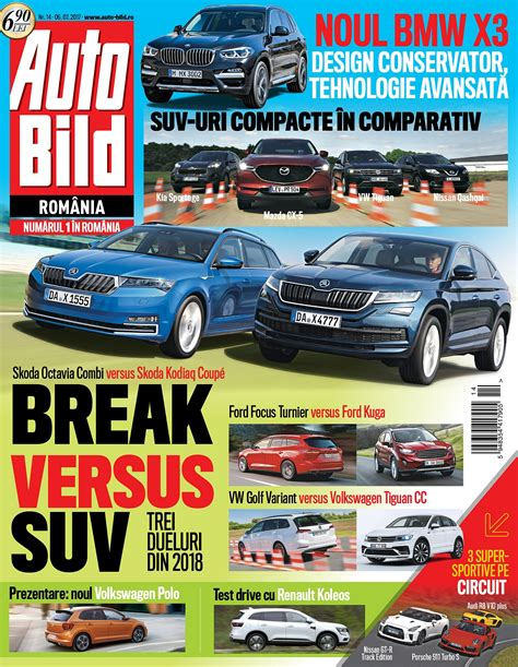 Auto Bild 14 2017 by Revista Auto Bild Nr 14 Din 6 Iulie 2017 Revista Auto