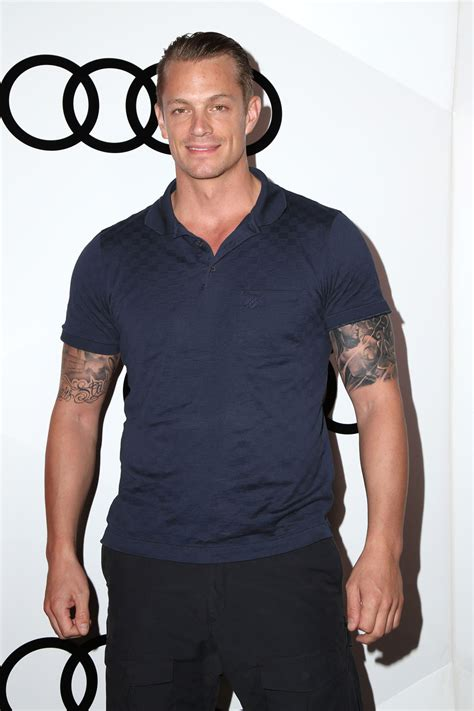 joel kinnaman at the audi celebrates the 68th emmys event