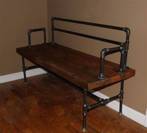 diy pipe bench 367 best images about steunk mancave on pinterest