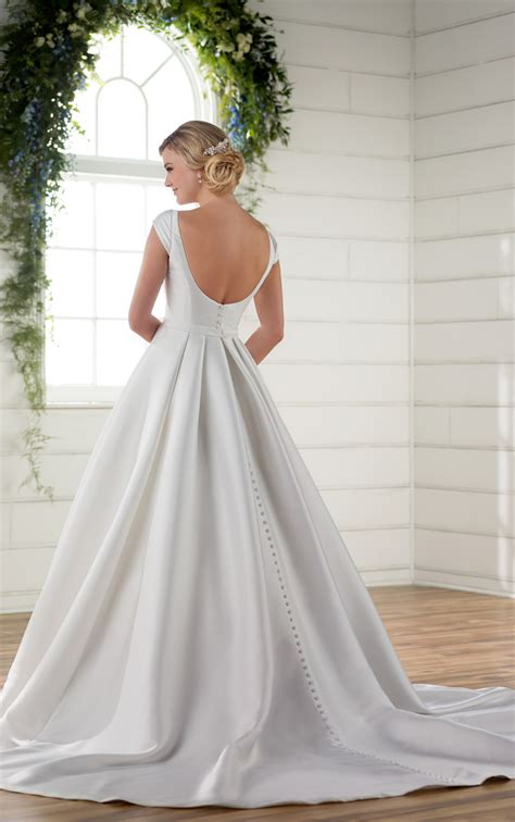 Wedding Dress With Sleeves by Modest Wedding Dress With Sleeves Essense Of Australia