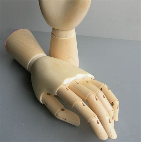 6 inch Wooden Mannequin DISPLAY HAND SMALL Manikin New by