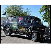 Chevy Van G20 The Black Pearl Custom Pirate  YouTube