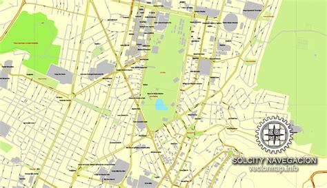 printable map quito quito ecuador printable vector street city plan map