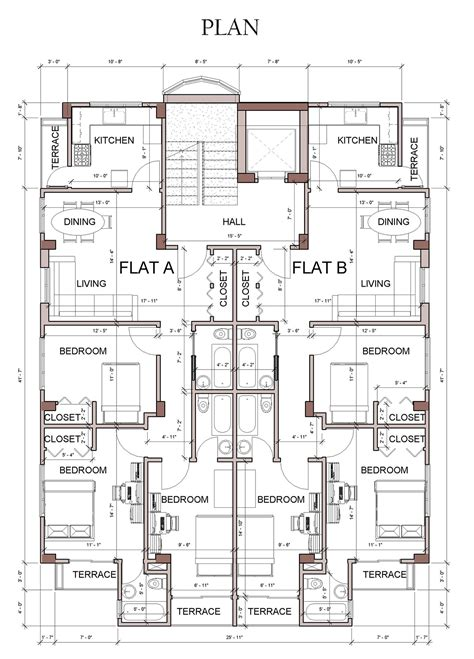 revit floor plans apartment house design revit on behance