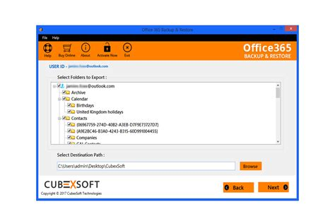 Office 365 Backup Software To Archive Outlook Web App
