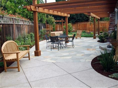Outdoor Awesome Covered Patio Designs Back Garden Deck