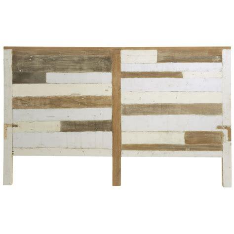 da letto in legno testata da letto in legno riciclato l 160 cm arcachon