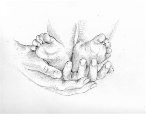 Sketches Holding by Pencil Drawing Of Baby 17 Images About Bambini On