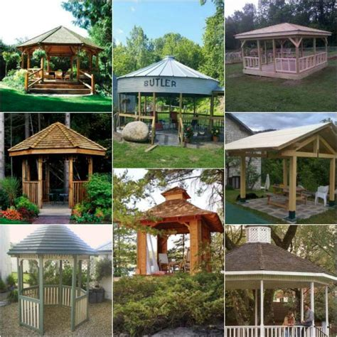 gazebo designs 12 diy backyard gazebo designs and ideas